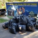 20 bags of insulation removed, SRB (Residential)